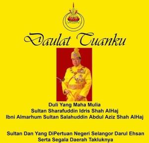 Merafak Sembah Sempena Ulang Tahun Keputeraan Paduka Sri Sultan Selangor