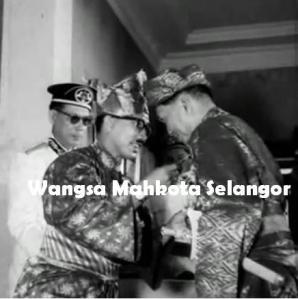 Sultan of Selangor, Wangsa Mahkota Selangor, Kesultanan Selangor, Raja Of Selangor. Ku Alam